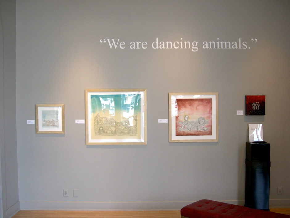 Kurt Vonnegut Library Exhibit 2013